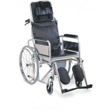 İthal - Sırtı Yatar Duş Tuvalet Sandalyesi - Golfi 4