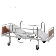 Elektrikli Hasta Karyolası - EKO 2 - Metal Korkuluk - Şilte + Alez