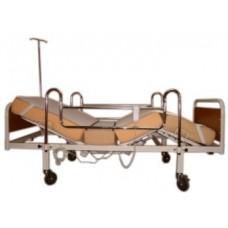 Elektrikli Hasta Karyolası EKO 1 - Metal Korkuluk - Şilte + Alez