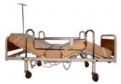 Hasta Karyolası 2 Motorlu - Metal Korkuluklu